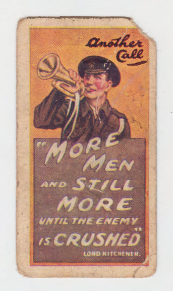 Another Call Cigarette Card Recruiting Posters Series