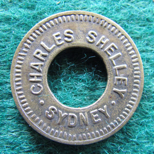 Charles Shelley Sydney Amusement Token