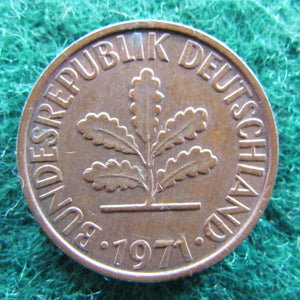 Germany 1971 G 2 Pfennig Coin