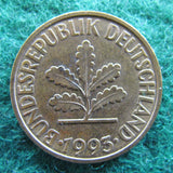 Germany 1993 D 10 Pfennig Coin