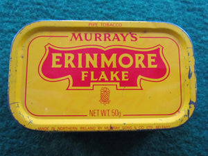 Murrays Erinmore Flake Pipe Tobaccoo Tin