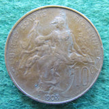 French 1903 Ten Centimes Coin