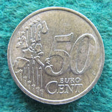 French 1999 50 Euro Cent Coin