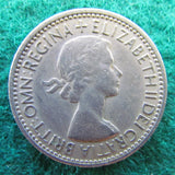 GB British UK English 1953 1 One Shilling Queen Elizabeth Coin