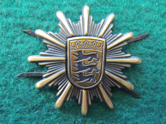 German Baden Wurttemberg Police Hat Badge