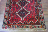 Vintage Persian Turkish Afghan Tribal Rug c.1970