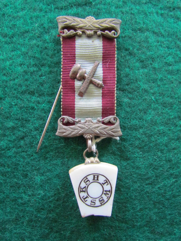 Masons Silver Plated Mark Master Breast Jewel