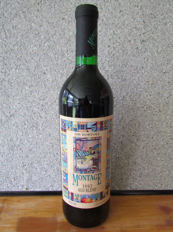 1993 De Bortoli Montage Red Blend 750 ml