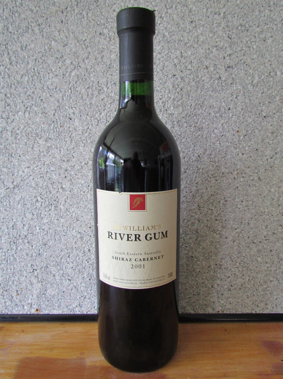2001 McWilliams River Gum Shiraz Cabernet 750 ml