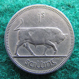Ireland Eire 1962 Scilling Shilling Coin
