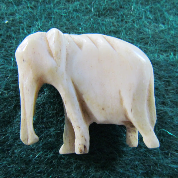 Ivory Carved Elephant Pendant