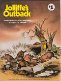 Jolliffe's Outback Cartoons And Australiana Study To Frame - Number 108 Aug 1979