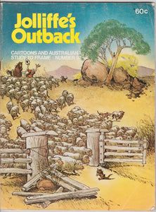 Jolliffe's Outback Cartoons And Australiana Study To Frame - Number 97