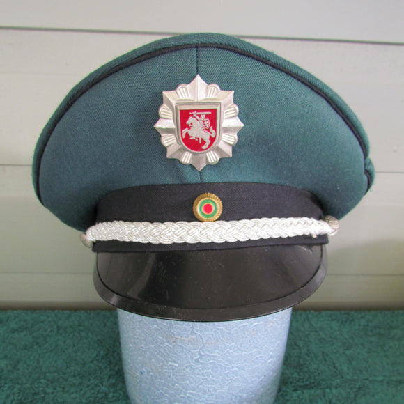 Lithuanian Police Officers Visor Cap