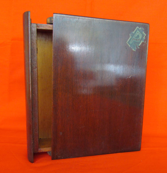 Maple cedar lined Bible Box c1930-40