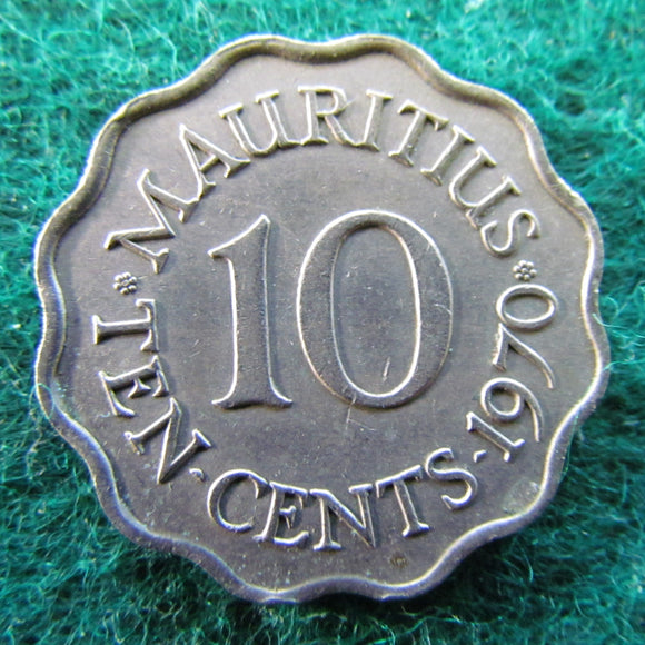 Mauritius 1970 10 Cent Coin