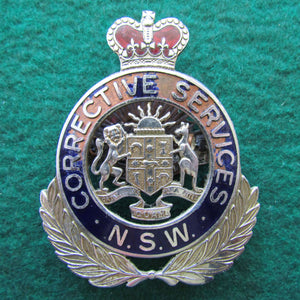 NSW Corrective Services Cap Badge