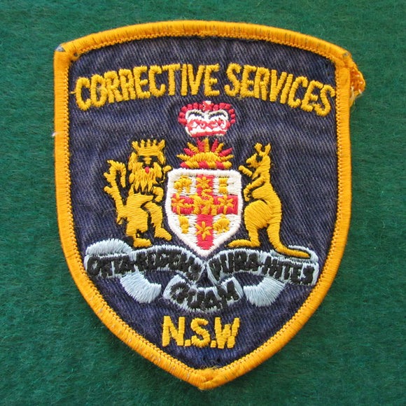 NSW Corrective Services Shoulder Patch