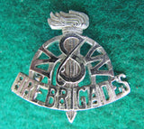 New South Wales Fire Brigades Chrome Plated Brass Cap Badge