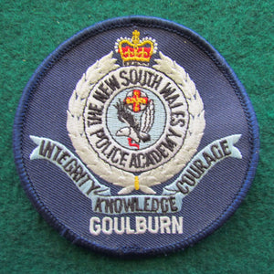 New South Wales Police Academy Goulburn Shoulder Patch