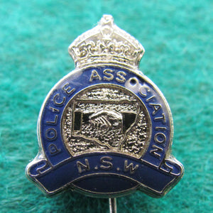 NSW Police Association Stick Pin Kings Crown
