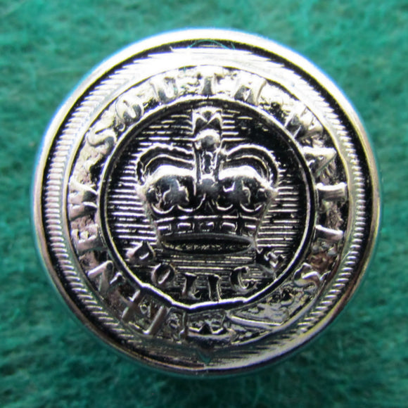 NSW Police Chrome Parade Uniform Button - Large
