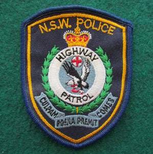 New South Wales Police Highway Patrol Shoulder Patch