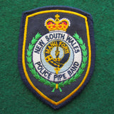 New South Wales Police Pipe Band Shoulder Patch