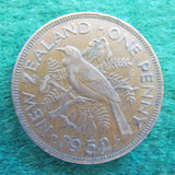 New Zealand 1952 Penny King George VI Coin