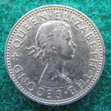 New Zealand 1965 Shilling Queen Elizabeth II Coin