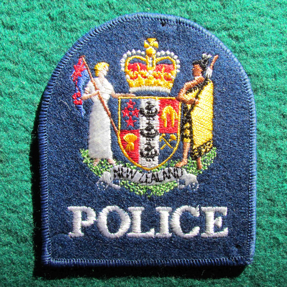 New Zealand Police Shoulder Patch