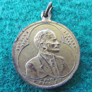 Municipality of Newtown Commemoration Medal Silver Jubilee 1862 - 1912