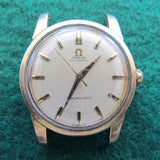 Omega Seamaster Gold Capped Automatic Wristwatch 34.2mm Case Diameter