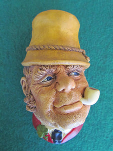 Bossons Chalkware Cast Wall Hanging Paddy 1969