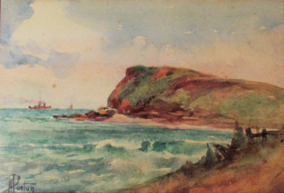 Alice Purton Watercolour Australian Coastal Seascape