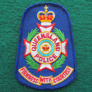 Queensland Police Shoulder Patch - Firmness With Courtesy