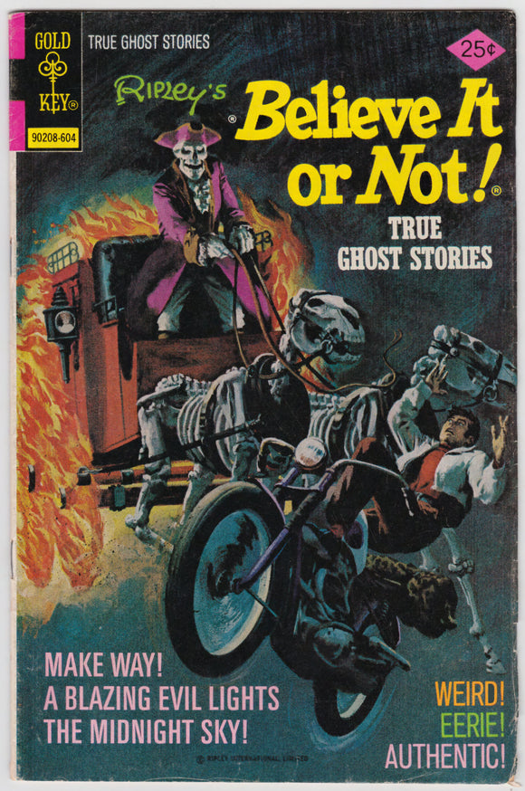 Ripleys Believe It Or Not Comic Book The Devils Own #61 April 1976