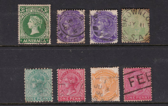 South Australian State Stamp Collective (Eight Stamps)