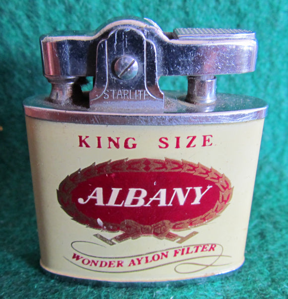 Albany Wonder Aylon Filter Cigarette Lighter By Starlight Japan