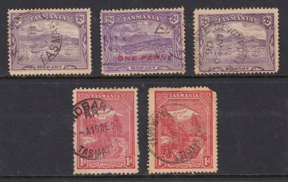 Tasmanian Mount Wellington & Hobart Stamp Collective