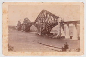 Photograph The Forth Railway Bridge Scotland 1889 - 1890