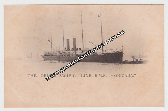 Postcard The Orient Pacific Line R.M.S.