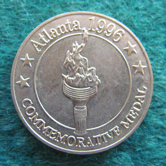 Atlanta 1996 Commemorative Medal - Sunday Telegraph