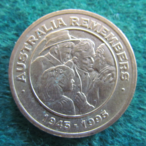 Australia remembers 1945 - 1995 Freedom Medallion