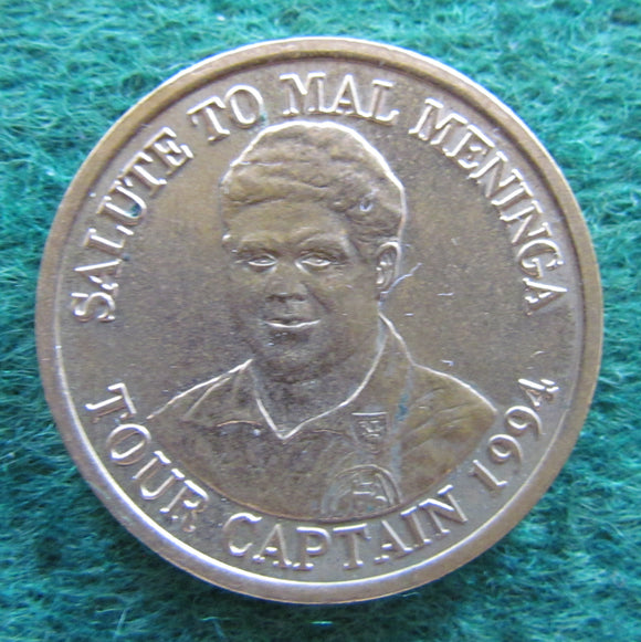 Salute To Mal Maninga Tour Captain 1994 Medallion