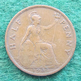 GB British UK English 1931 Half Penny King George V Coin