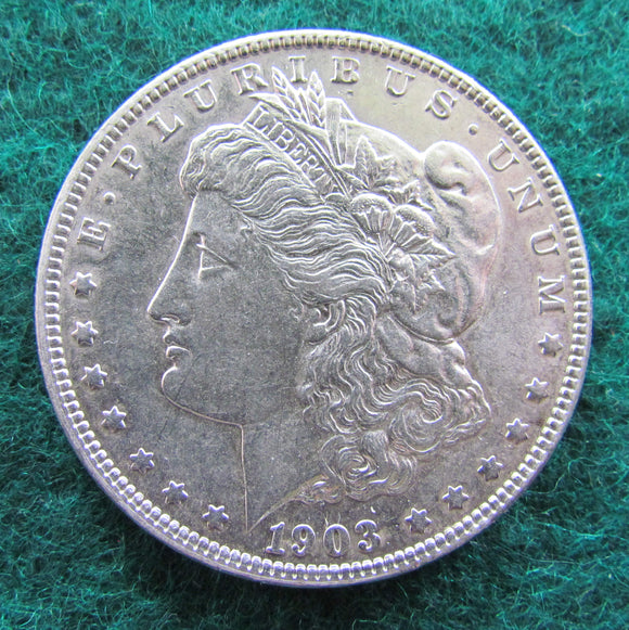 USA American 1903 Silver Dollar Outstanding Brilliant Coin