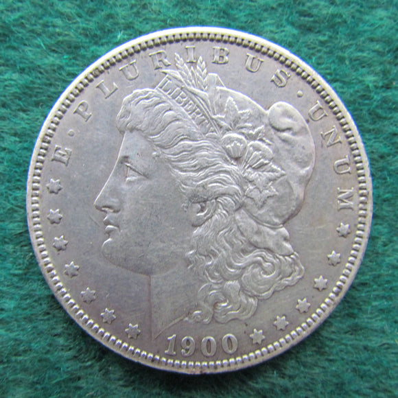 USA American 1900 Morgan Silver Dollar - Circulated