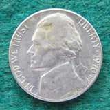 USA American 1970 D Nickel Jefferson Coin - Circulated