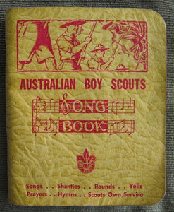 Australian Boy Scout Song Book Boy Scouting book